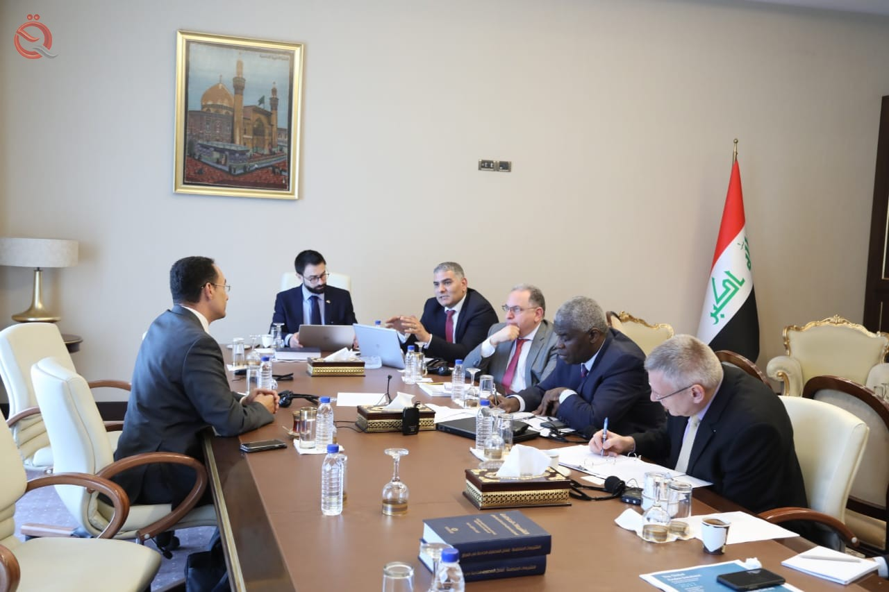 Our correspondent: The Arab Monetary Fund holds bilateral meetings with Iraqi banks 10725