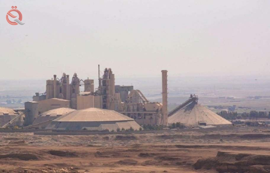 Iraq produces five million tons of cement, with revenues exceeding 160 billion 10727