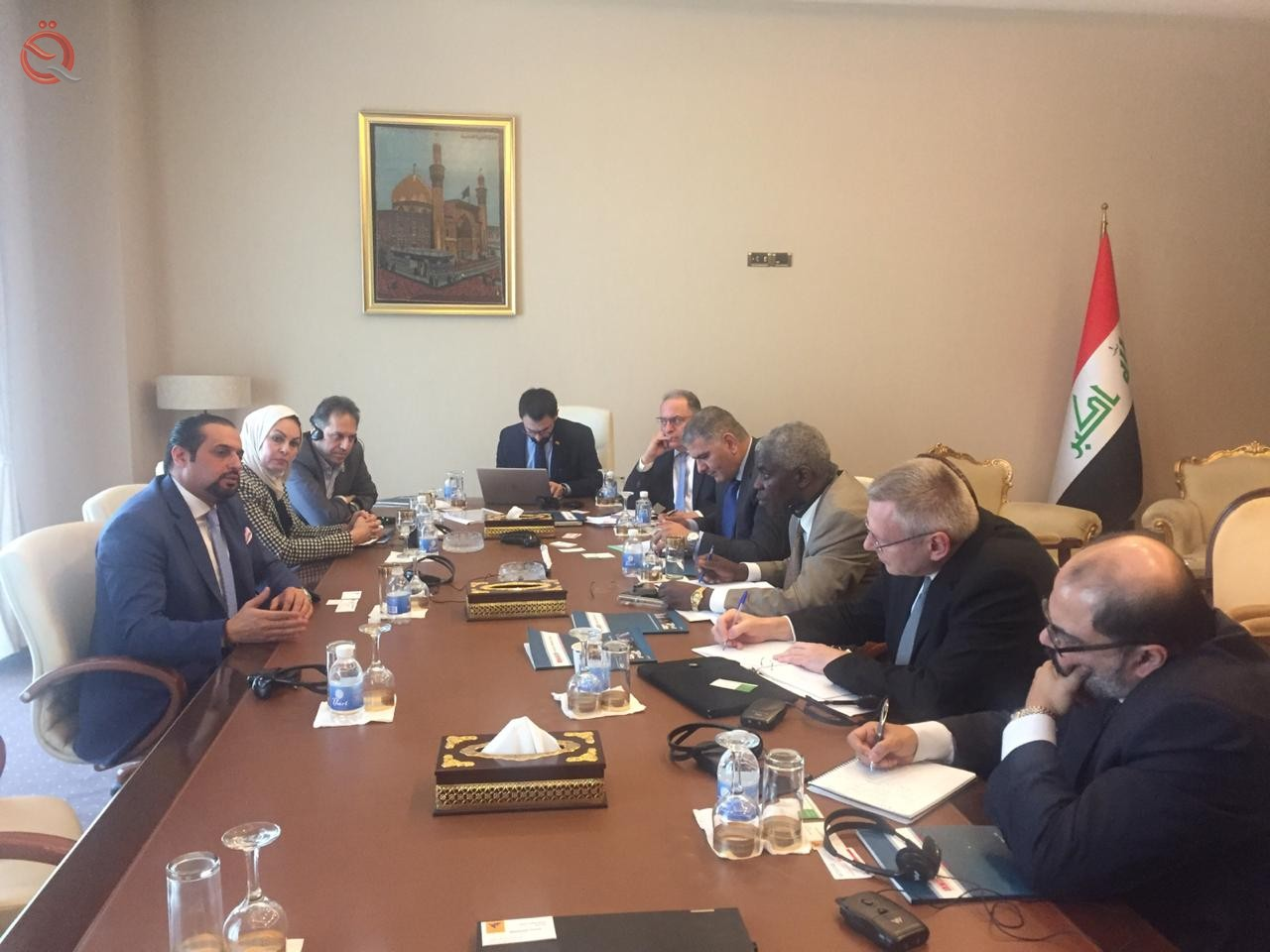Our correspondent reveals the details of the activities of the third day of the visit of the Arab Monetary Fund to Iraq 10759