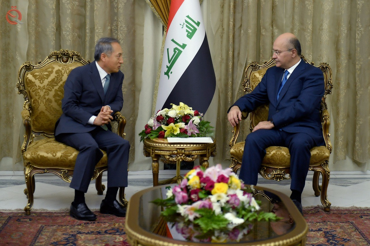 Iraq calls on Korean companies to contribute to the reconstruction of affected cities 11018