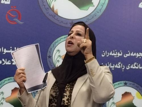 A deputy asking the parliament to include in its proposal by deducting the amount of each barrel of oil and distribution to each Iraqi 11216
