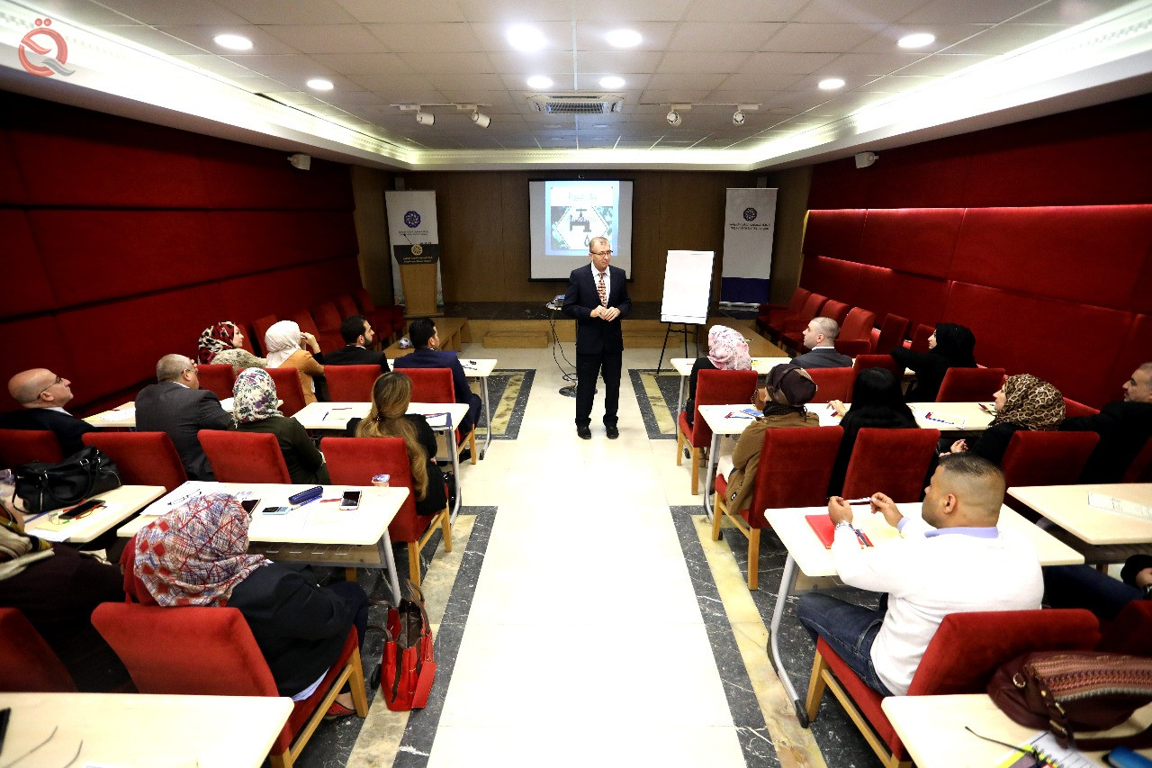 The Association of Iraqi Private Banks is conducting a liquidity risk management and interest rate course 11268