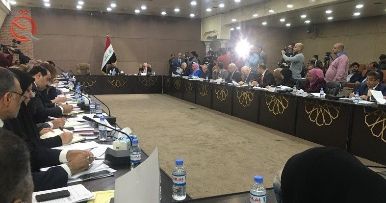 The start of the meeting of the Parliamentary Finance Committee with its government counterpart to discuss the budget of 2019 11300