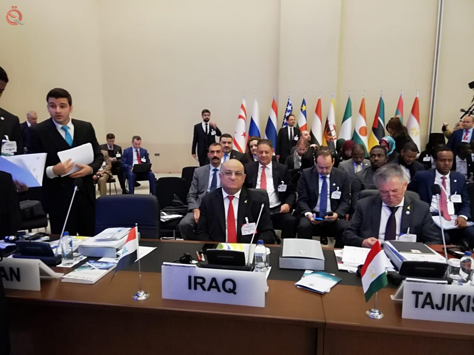 Commencement of the 34th ministerial meeting of the COMCEC in Istanbul with the participation of Iraq 11478