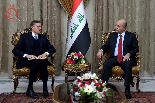 Saleh stresses the need for the participation of German companies in the development of infrastructure and the strengthening of the Iraqi economy 11661