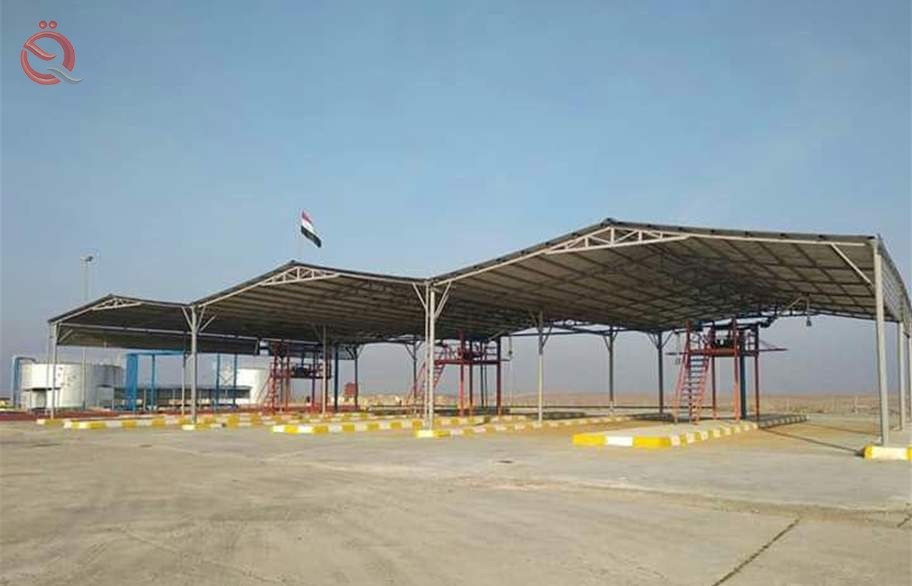 Petroleum products announce the completion and rehabilitation of the largest site for the supply of tubs in Iraq 11962
