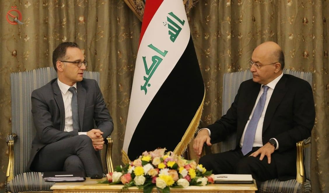 Foreign Minister calls on Germany to actively participate in the reconstruction of liberated areas 11968