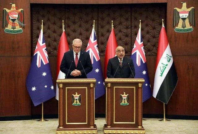 Abdul-Mahdi to his Australian counterpart: Iraq will not be a path to attack any other country 11986