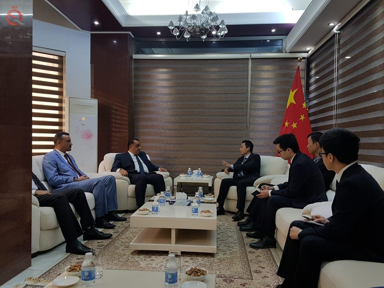 Baghdad Chamber of Commerce and the Chinese embassy are looking to upgrade the business sector 12073