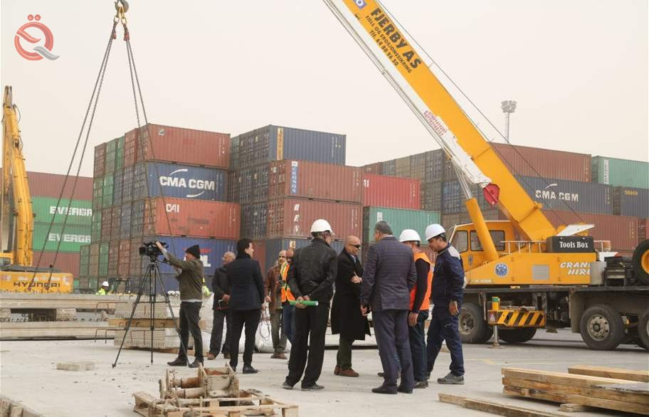 Revenues of the port of Umm Qasr to 183 billion dinars 12463