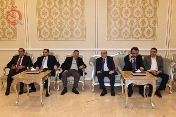 A Jordanian delegation in Baghdad is considering the implementation of the talks between Abdul Mahdi and Al-Razaz 12594