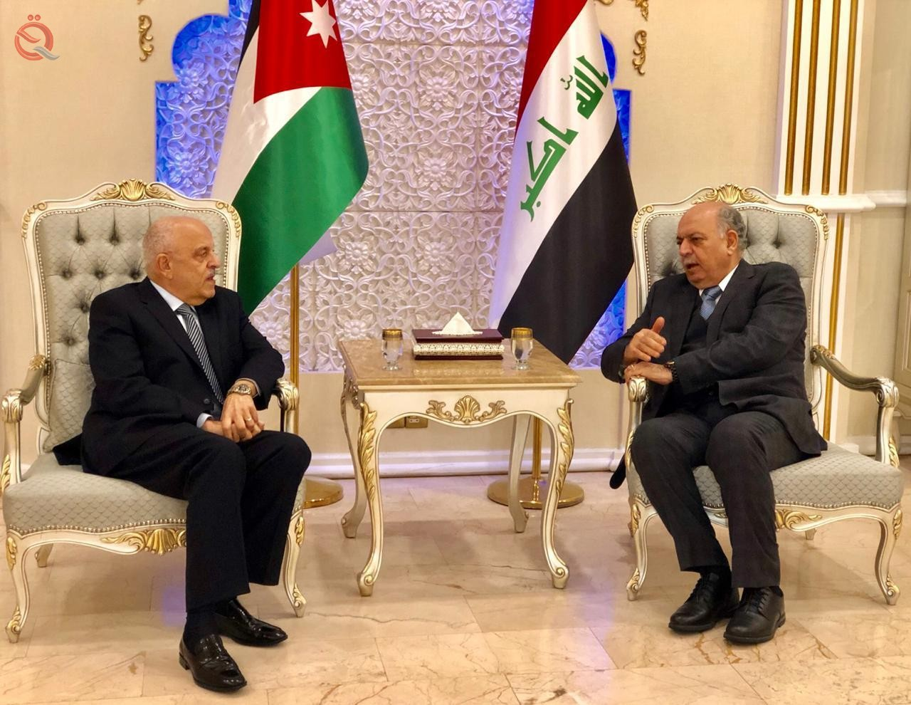 Jordanian Deputy Prime Minister arrives in Baghdad and bilateral talks begin 12622