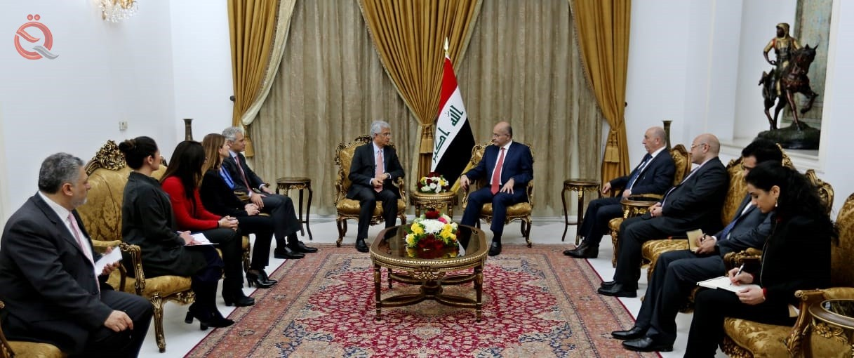 Abdul Mahdi and the Director of the World Bank discuss mechanisms to promote the Iraqi economy 12666