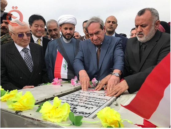 The National Investment Authority and Maysan Province are laying the foundation stone for the construction of 3,812 housing units in the governorate 12730