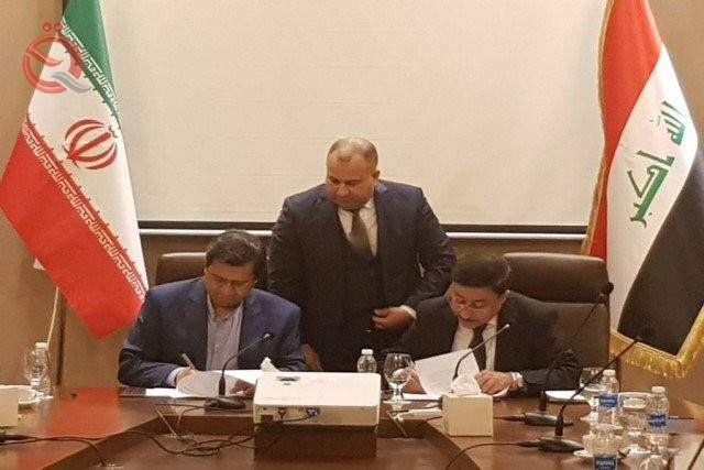 Signing an agreement concerning the mechanism of financial payment between Iraq and Iran 12840