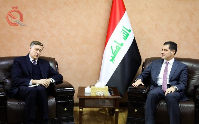 Expected visit to the German Minister of Economy to Iraq 12921