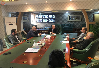 Al-Hankal reviews the work of the Hamorabi Bank 13114