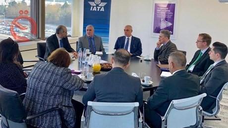 Iraq is holding international talks to restore its airline membership in IATA 13120