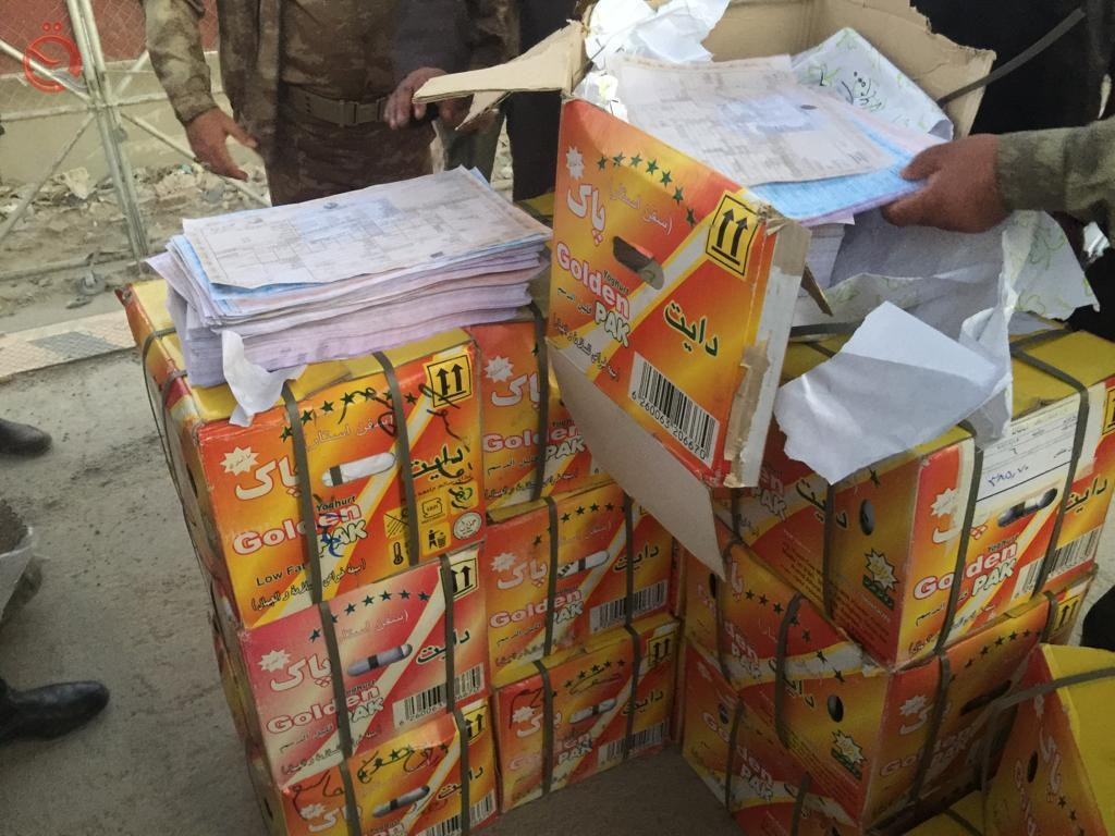 Customs announces the confiscation of thousands of forged customs permits coming from the Iranian side 13354