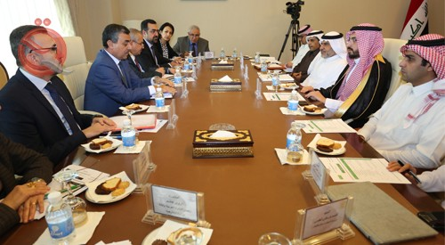 The Iraqi-Saudi Coordination Council is considering the agenda of the expanded meeting in April 13527
