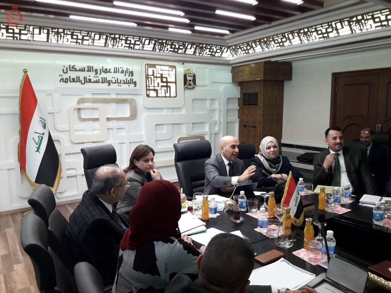 Ministry of Construction agrees to complete the largest three housing complexes in Diyala 14043