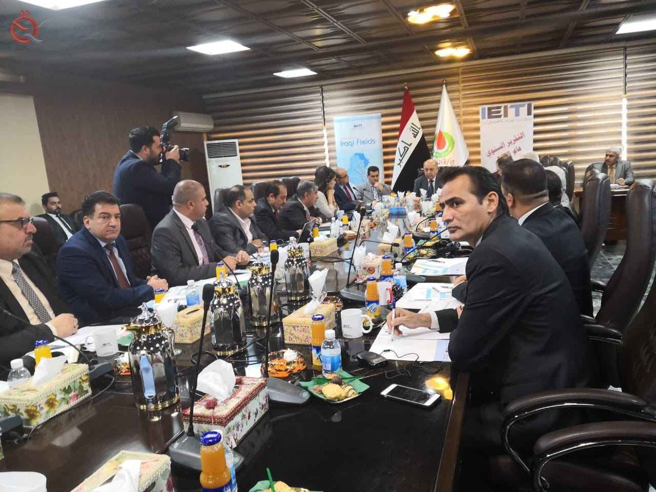 Transparency Initiative holds a meeting at the Ministry of Oil to discuss the profitability of oil companies 14317