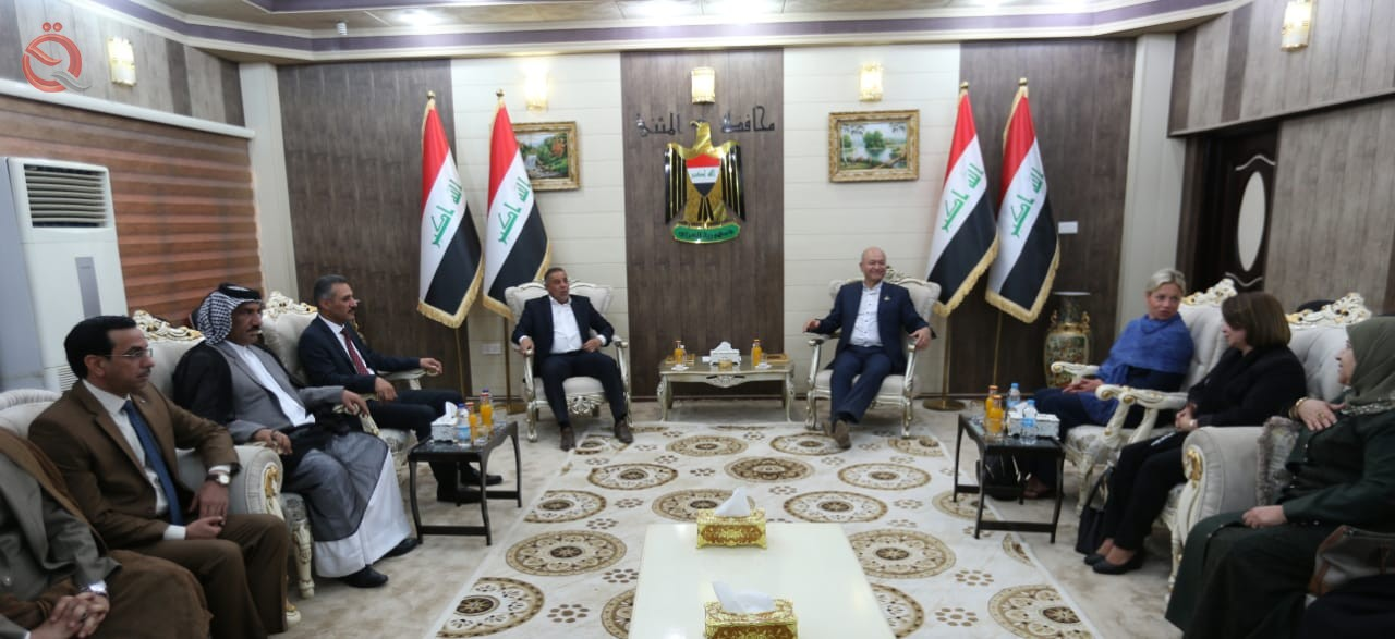 Saleh calls on the government of Muthanna to strive hard to attract investors and capital to maintain 14470
