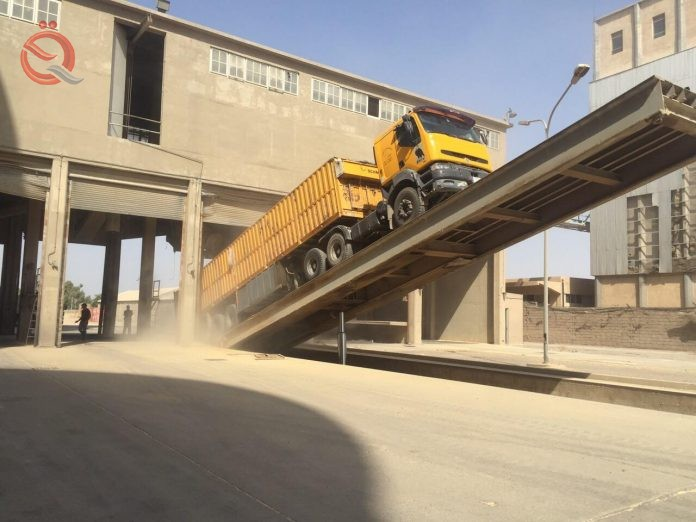 Expectations of the arrival of Karbala production of wheat and barley 56 tons during the current season 14785