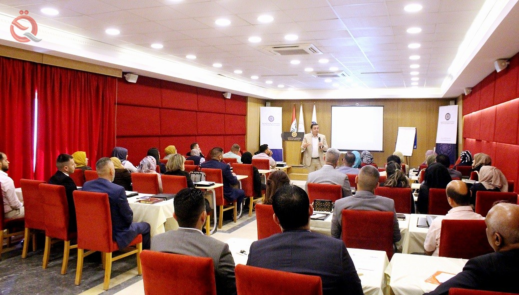 """The Association of Iraqi Private Banks Holds a Course on """"Managing Troubled Debts and their Methods of Treatment"""" 14839"""