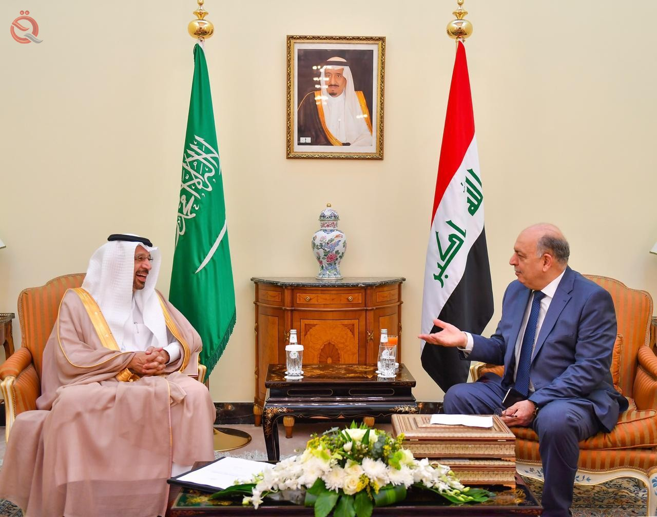 Oil Minister meets Saudi counterpart in Jeddah 15231