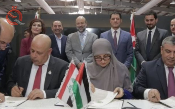 Iraq and Jordan sign memorandum on project implementation and reconstruction 15908