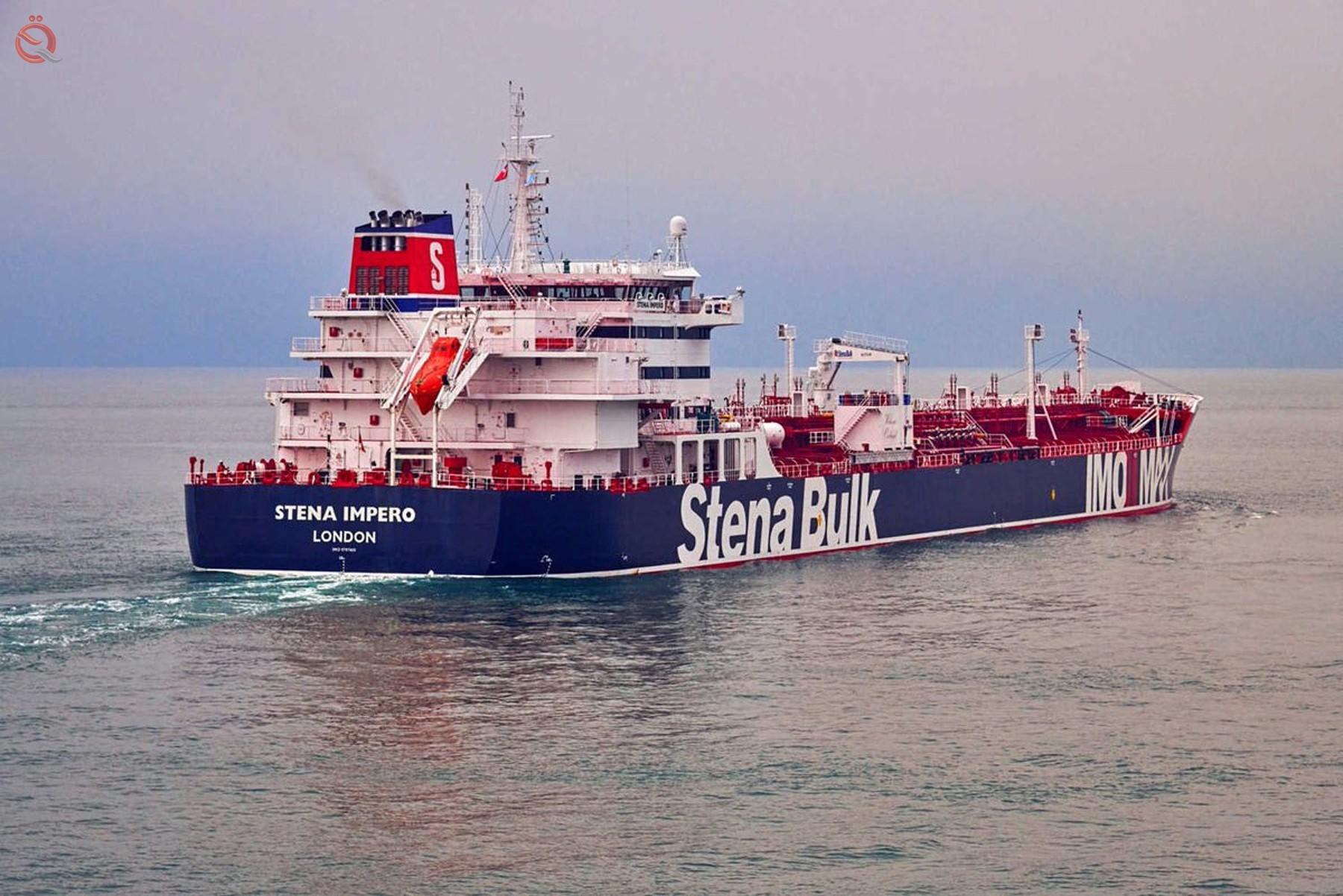 Iran frees British oil tanker 16343