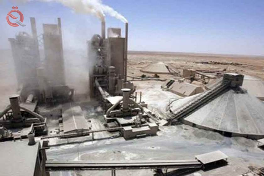 Maysan announces the completion of the project of the cement plant investment architecture 16929