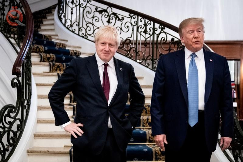 Agreement between Trump and Johnson to conclude a trade agreement by July 17223