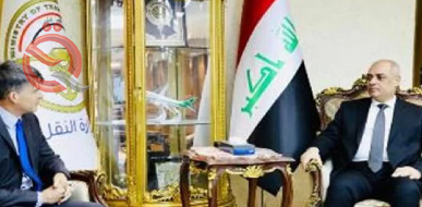 Iraq and America discuss the possibility of opening a direct air link between the two countries 17571
