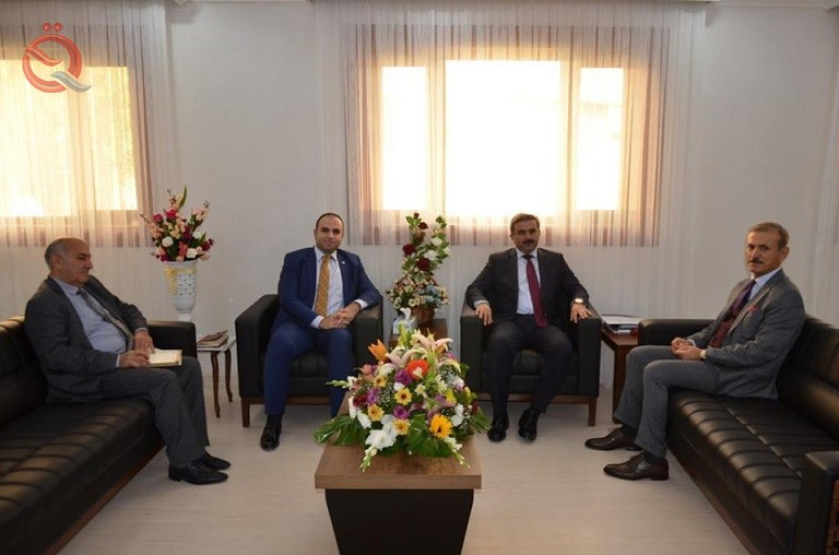 Handal discusses with the investment of Kurdistan the support of Iraqi youth 18255