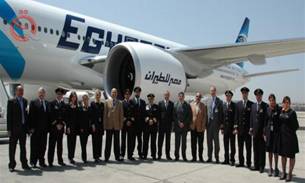 EgyptAir announces the resumption of its flights to Baghdad 18590