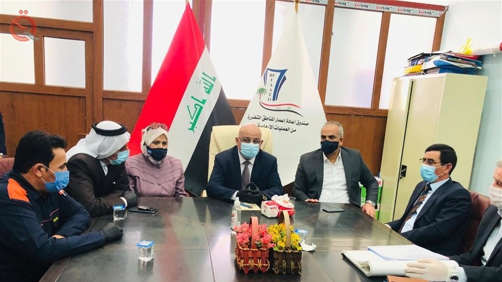 Agreement to transfer the Mosul airport file to the Reconstruction Fund 22364