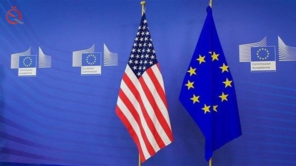 For the first time in two decades ... a surprise US-European agreement on customs cuts for some comm 22638