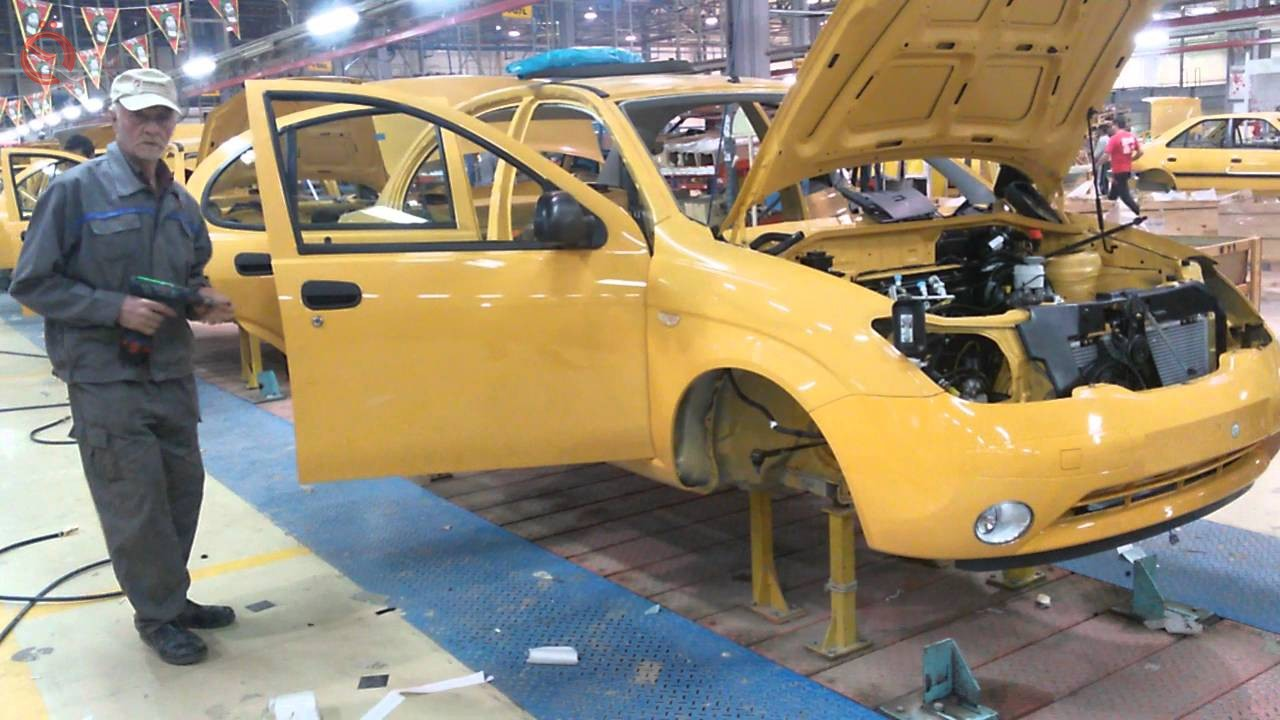 The industry is revealing its auto assembly production lines 22790