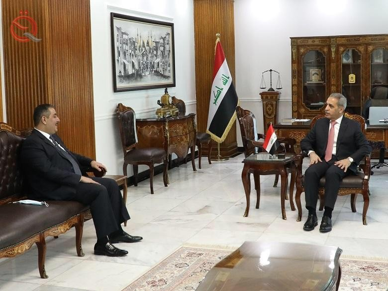 Governor of the Central Bank meets the President of the Supreme Judicial Council 23112