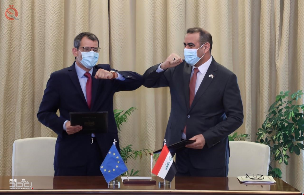 Iraq signs 3 agreements with the European Union 23148