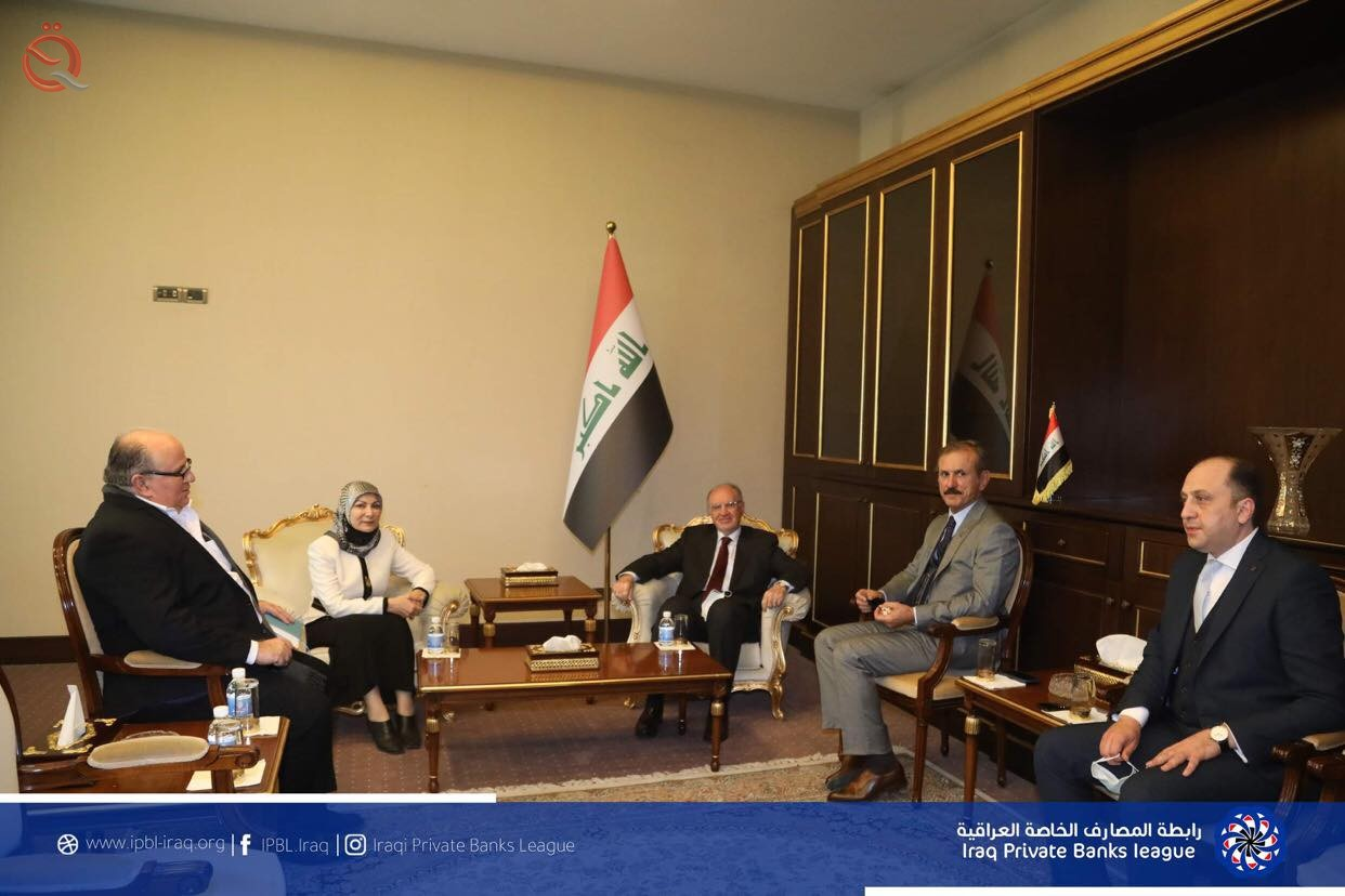 Finance Minister Ali Allawi praises the efforts of the Iraqi Private Banking Association in support of economic reform 24594