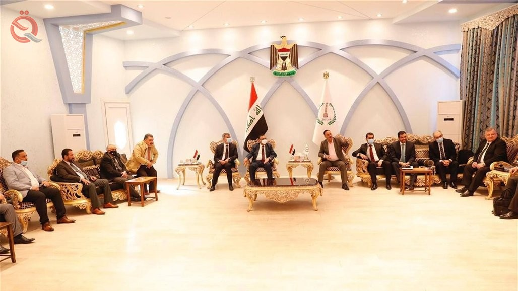 A high ministerial delegation arrives in Nineveh Governorate 26420