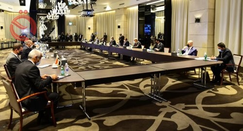 Reconstruction: A final record of the tripartite ministerial talks will be prepared 26857