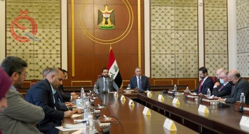 The three presidencies hold a meeting with the Kurdish delegation, in the presence of the heads of political blocs 26914