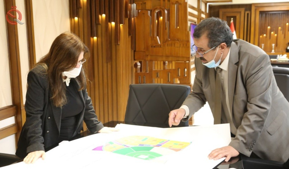 The Construction and Housing Authority approves the design of a new residential city in Baghdad that includes 13 thousand units 26964