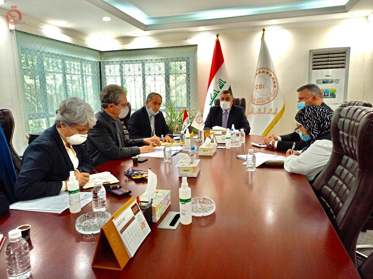 Governor of the Central Bank meets a delegation from the French Development Agency 27173