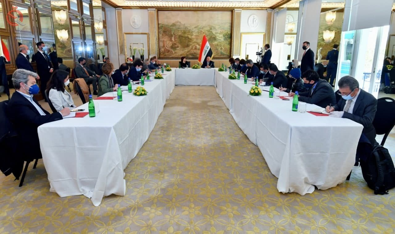 Foreign Minister: We are working to diversify the economic partnerships of Iraq 27412