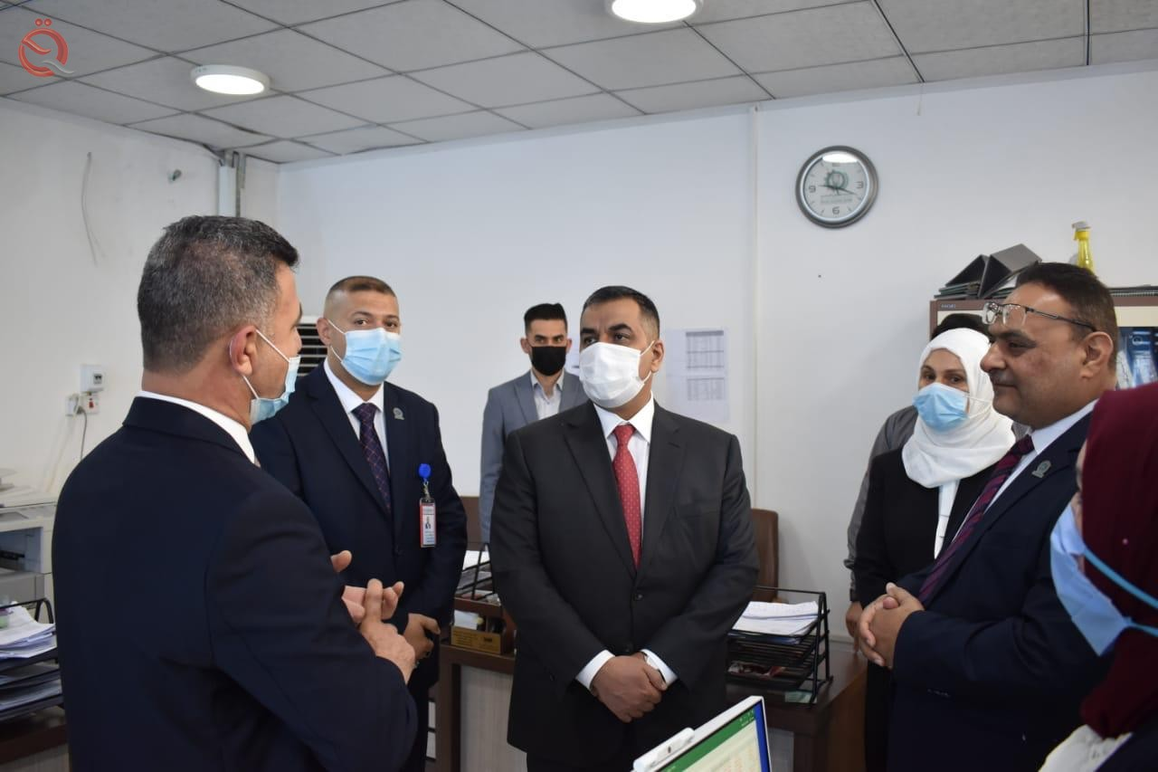 The Governor of the Central Bank conducts an inspection tour of the two branches of the Central Bank in Mosul and Erbil 28004